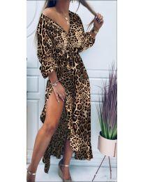 Φόρεμα - κώδ. 5454 - 3 - πολύχρωμο