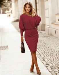 Φόρεμα - κώδ. 2242 - μπορντό