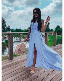 Φόρεμα - κώδ. 1174 - γαλάζιο