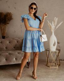 Φόρεμα - κώδ. 6224 - γαλάζιο