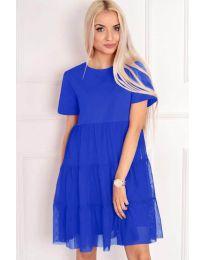 Φόρεμα - κώδ. 417 - μπλε