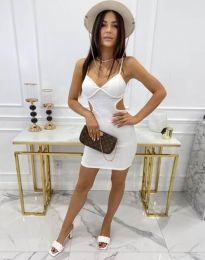 Φόρεμα - κώδ. 11808 - λευκό