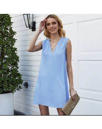Φόρεμα - κώδ. 1429 - γαλάζιο