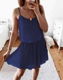 Φόρεμα - κώδ. 8596 - σκούρο μπλε