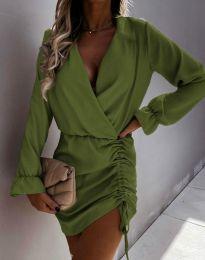 Φόρεμα - κώδ. 4271 - λαδί