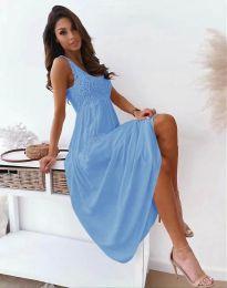 Φόρεμα - κώδ. 4807 - γαλάζιο