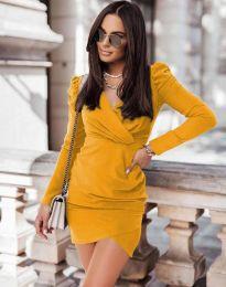 Φόρεμα - κώδ. 0951 - μουσταρδί