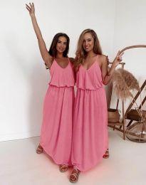 Φόρεμα - κώδ. 11993 - ροζ