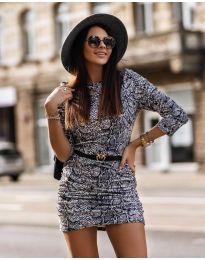 Φόρεμα - κώδ. 326 - 3 - πολύχρωμο