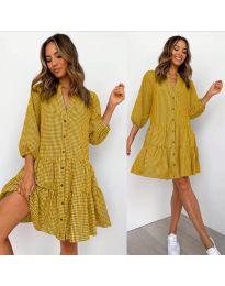 Φόρεμα - κώδ. 965 - μουσταρδί