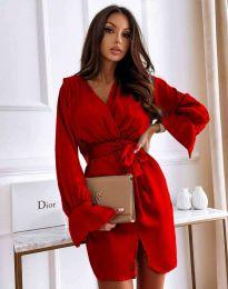 Φόρεμα - κώδ. 2741 - κόκκινο