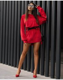 Φόρεμα - κώδ. 8989 - κόκκινο
