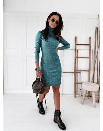 Φόρεμα - κώδ. 5696 - μπλε
