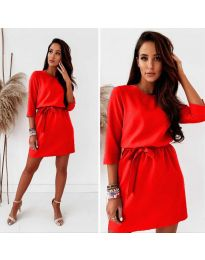 Φόρεμα - κώδ. 778 - κόκκινο
