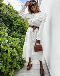 Φόρεμα - κώδ. 0597 - 1 - λευκό