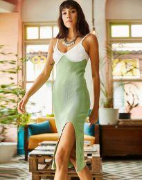 Φόρεμα - κώδ. 1036 - ανοιχτό πράσινο