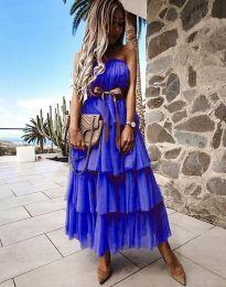 Φόρεμα - κώδ. 1543 - σκούρο μπλε