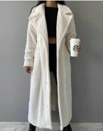 Παλτό - κώδ. 0465 - 2 - λευκό