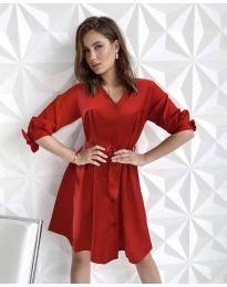 Φόρεμα - κώδ. 9028 - κόκκινο