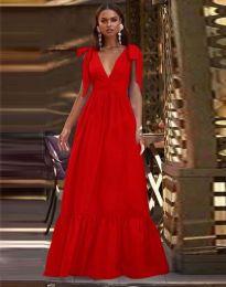 Φόρεμα - κώδ. 2743 - κόκκινο