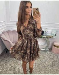 Φόρεμα - κώδ. 8814 - πολύχρωμο