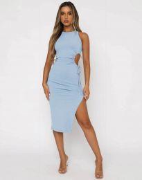 Φόρεμα - κώδ. 11937 - γαλάζιο
