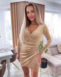 Φόρεμα - κώδ. 3872 - μπεζ