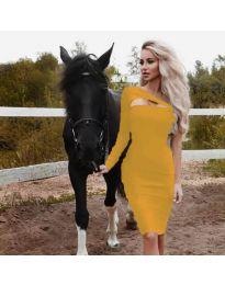 Φόρεμα - κώδ. 955 - μουσταρδί