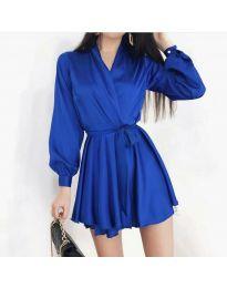 Φόρεμα - κώδ. 8745 - σκούρο μπλε