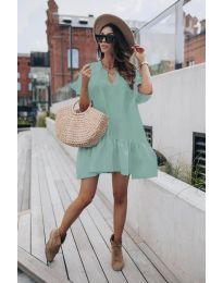 Φόρεμα - κώδ. 6868 - μέντα