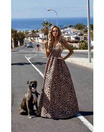 Φόρεμα - κώδ. 0040 - καπουτσίνο