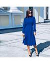 Φόρεμα - κώδ. 4572 - μπλε