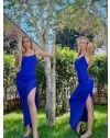 Φόρεμα - κώδ. 7858 - μπλε