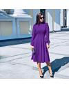 Φόρεμα - κώδ. 4572 - μωβ
