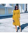 Φόρεμα - κώδ. 4572 - μουσταρδί